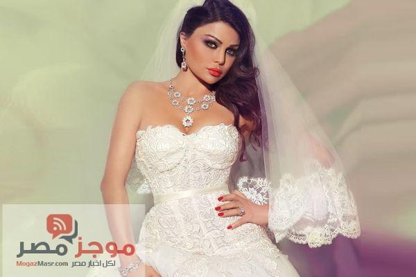 زواج هيفاء وهبى من ابن الفنان احمد صيام .. بالصور