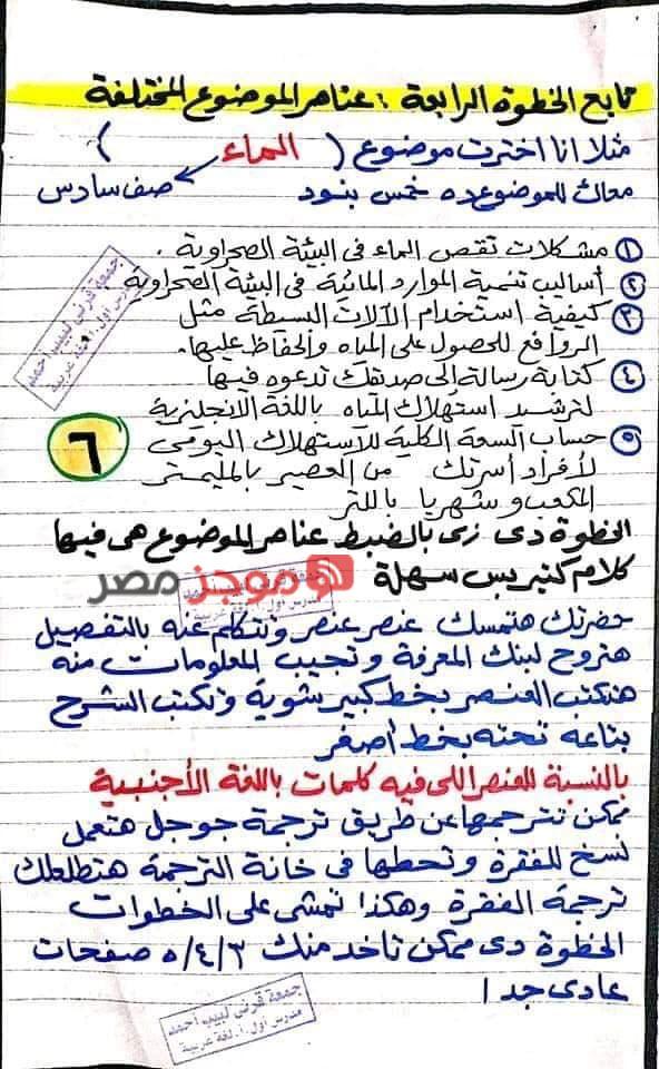 طريقة عمل البحث 6
