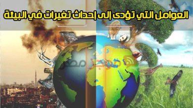 Photo of البيئة : توضيح العوامل التي تؤدى إلى إحداث تغيرات في البيئة + بحث ثالثة اعدادي كامل