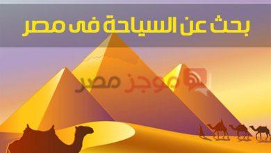 """Photo of """"بنك المعرفة المصري"""" بحث عن السياحة للصف الرابع الابتدائي """"أهمية السياحة للدخل القومي"""""""