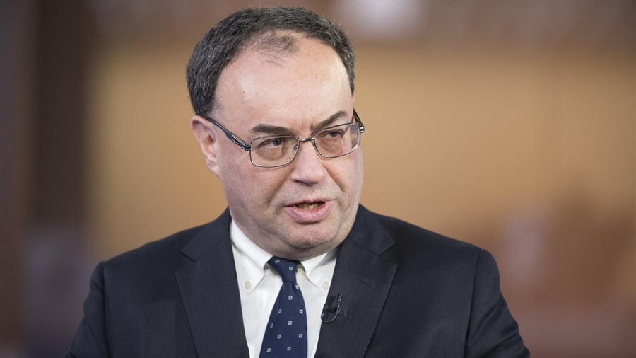 محافظ بنك انجلترا - أندرو بيلي
