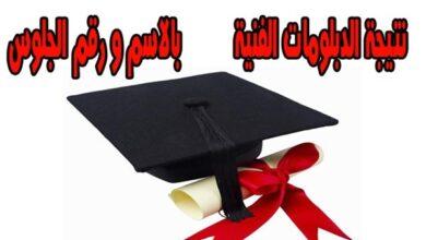 Photo of نتيجة الدبلومات الفنية 2020 برقم الجلوس من موقع وزاره التربيه والتعليم وبوابة التعليم الفني
