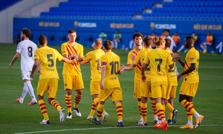 برشلونة يفوز بأول مباراة ودية تحت قيادة كومان