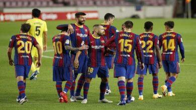 Photo of برشلونة يفوز على فياريال 4-0 فى الدوري الاسباني الليجا