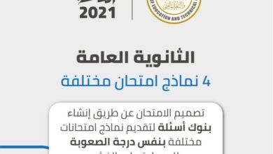 Photo of تفاصيل نظام الثانوية العامة الجديد 2021 وتفاصيل وشكل الامتحانات الالكترونية