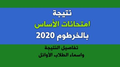 Photo of رابط نتيجة الاساس 2020 بولاية الخرطوم رابط وزارة التربية والتعليم السودانية esudan.gov