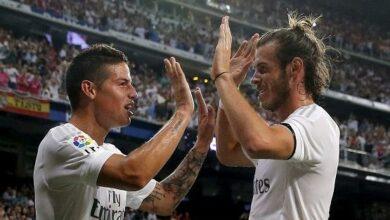 Photo of أسوأ كوابيس ريال مدريد اللاعبان خاميس رودريغيز وجاريث بيل