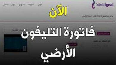 Photo of رابط موقع المصرية للاتصالات الاستعلام عن فاتورة التليفون الأرضي شهر أكتوبر 2020