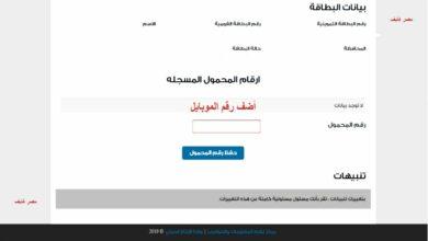Photo of تسجيل المواليد أو الزوجة على البطاقة التموينية عبر موقع دعم مصر tamwin بوابة مصر الرقمية
