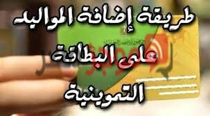 كيفية إضافة المواليد على بطاقة التموين 2020 موقع دعم مصر tamwin.com