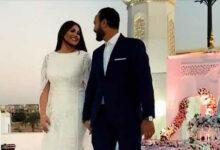 Photo of صور رومانسية كتب كتاب أحمد خالد صالح وهنادى مهنى