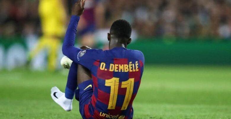 شرطان عثمان ديمبلي للموافقة على عرض مانشستر يونايتد