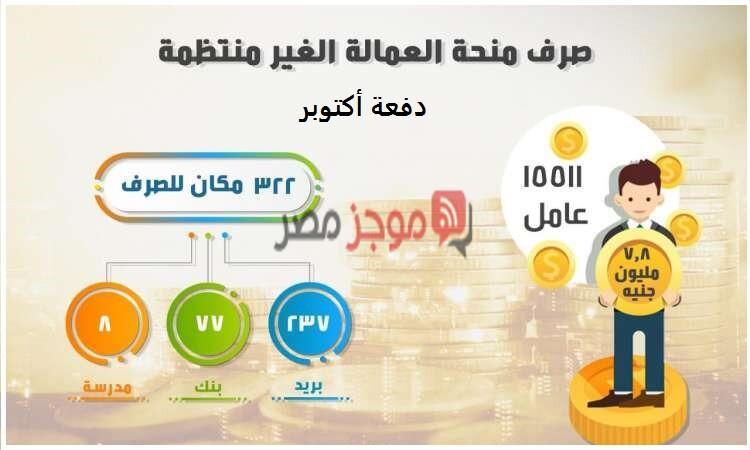 رابط الاستعلام عن منحة العمالة غير المنتظمة برقم البطاقة عبر موقع www.manpower.gov.eg