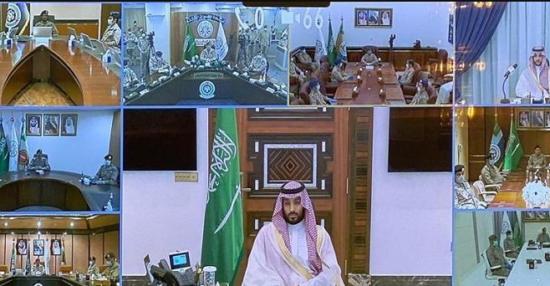 تهنئة ولي العهد لمنسوبي وزارة الدفاع بمناسبة عيد الفطر المبارك