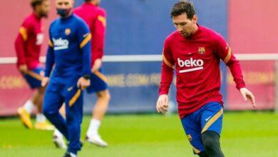 برشلونة يبدأ الاستعداد لمواجهة يوفنتوس في دوري أبطال أوروبا