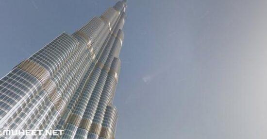 عدد طوابق برج خليفة