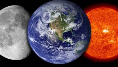 العلاقة بين الشمس والقمر والأرض وأهمية كل عنصر