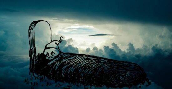 تفسير حلم رؤية النوم بجانب الميت في المنام لابن سيرين وابن شاهين