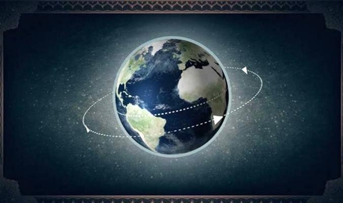سرعة دوران الأرض حول نفسها وتأثير دوران الأرض حول الشمس