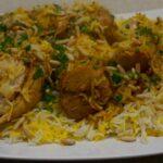 طريقة البرياني الهندي بالدجاج والخضار والمكونات المطلوبة