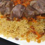 طريقة الرز الكابلي بالفراخ والبرتقال والكبدة