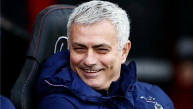 مورينيو يكشف عن فرصة توتنهام للفوز بلقب الدوري الإنجليزي الممتاز