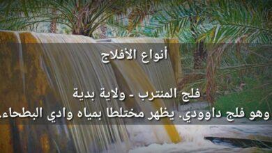 Photo of انواع الافلاج في عمان