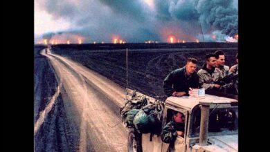 Photo of اثار التلوث الذي حدث في الكويت سنه 1990