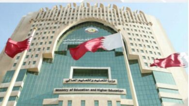 جداول الحصص المدرسية والدراسة عن بعد قطر