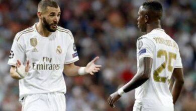 Photo of كريم بنزيمة وفينيسيوس يشكلان ثنائيًا جيدًا في ريال مدريد