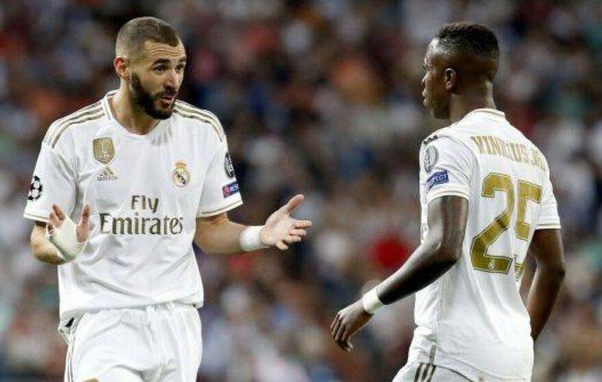 كريم بنزيمة وفينيسيوس يشكلان ثنائيًا جيدًا في ريال مدريد