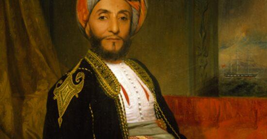 اول سفير عماني الى امريكا