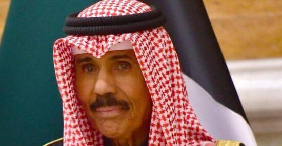 كم عمر الشيخ نواف الاحمد