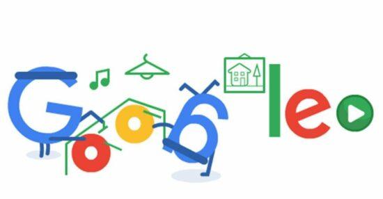 الألعاب في شعارات Google المبتكرة الرائجة عبر الإنترنت أونلاين