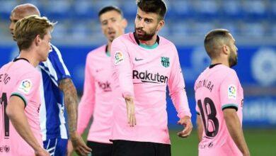 """تشكيلة برشلونة ضد ديبورتيفو ألافيس في الجولة الثالثة والعشرين من الدوري الإسباني """"الليجا"""""""