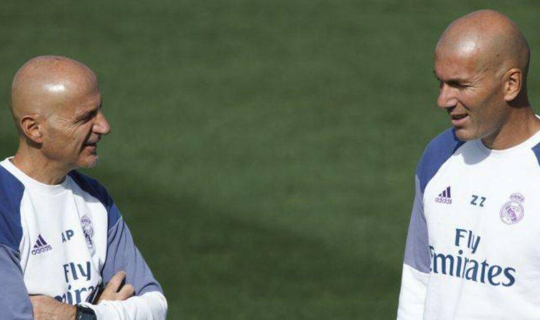 صدام خاص بين زيدان وبينتوس في مباراة ريال مدريد وإنتر ميلان