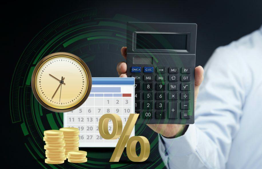 حساب نسبة الفائدة على الودائع في البنوك