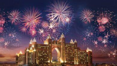 احتفالات دبي في ليلة راس السنة 31-12-2020 احتفالات برج خليفة بالعام الجديد