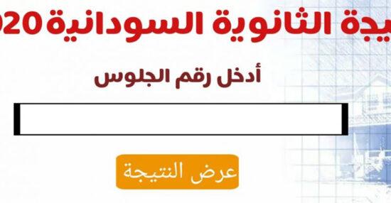 نتيجة الشهادة السودانية 2020 برقم الجلوس عبر موقع sudanresults