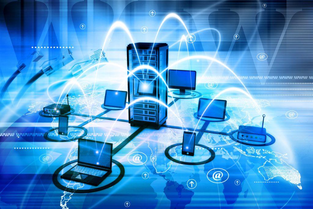 بحث عن الشبكات السلكية واللاسلكية بالعناصر