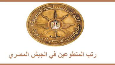 Photo of رتب المتطوعين في الجيش المصري