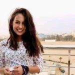حبيبة طارق فتاة الفستان بجامعة طنطا