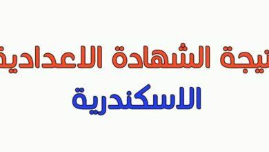 رابط مباشر نتيجة الشهادة الإعدادية 2021 محافظة الإسكندرية بالاسم ورقم الجلوس