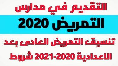 Photo of تنسيق مدارس التمريض العادي بعد الاعدادية 2021 بالدرجات لكل المحافظات