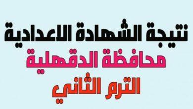 Photo of البوابة الإلكترونية لمحافظة الدقهلية 2021 نتيجة الصف الثالث الاعدادي بالاسم فقط ورقم الجلوس