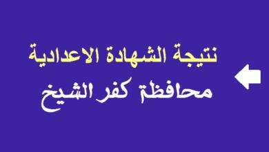 Photo of وزارة التربية والتعليم بكفر الشيخ نتائج الامتحانات برقم الجلوس نتيجة الصف الثالث الاعدادي الترم الثاني 2021