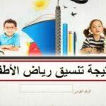 نتيجة تنسيق رياض الأطفال بالرقم القومي 2022 المدارس الحكومية عبر خدمات ولي الامر
