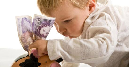 تفسير حلم اعطاء المال للاطفال