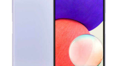 سعر هاتف سامسونج الجديد مواصفات Samsung Galaxy A22