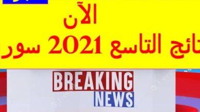 Photo of لينك نتائج التاسع سوريا 2021 برقم الإكتتاب موقع بوابة نتائج وموقع وزارة التربية والتعليم السورية